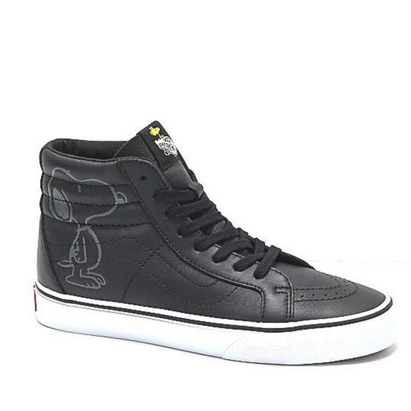 peanuts x vans shoes